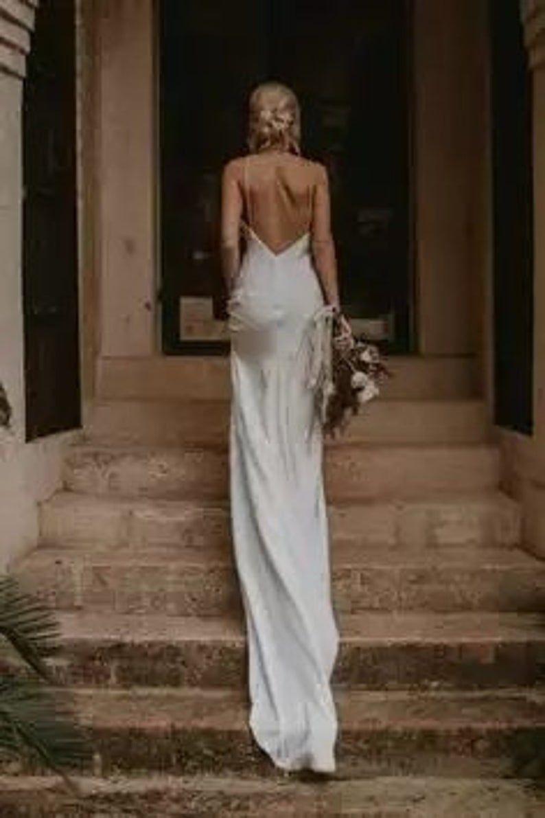 Silk Heart Calliste Bride Bohemian Wedding Dress Chic Wedding Etsy Wedding Dresses Wedding Dress Trends Wedding Dresses Lace [ 1191 x 794 Pixel ]