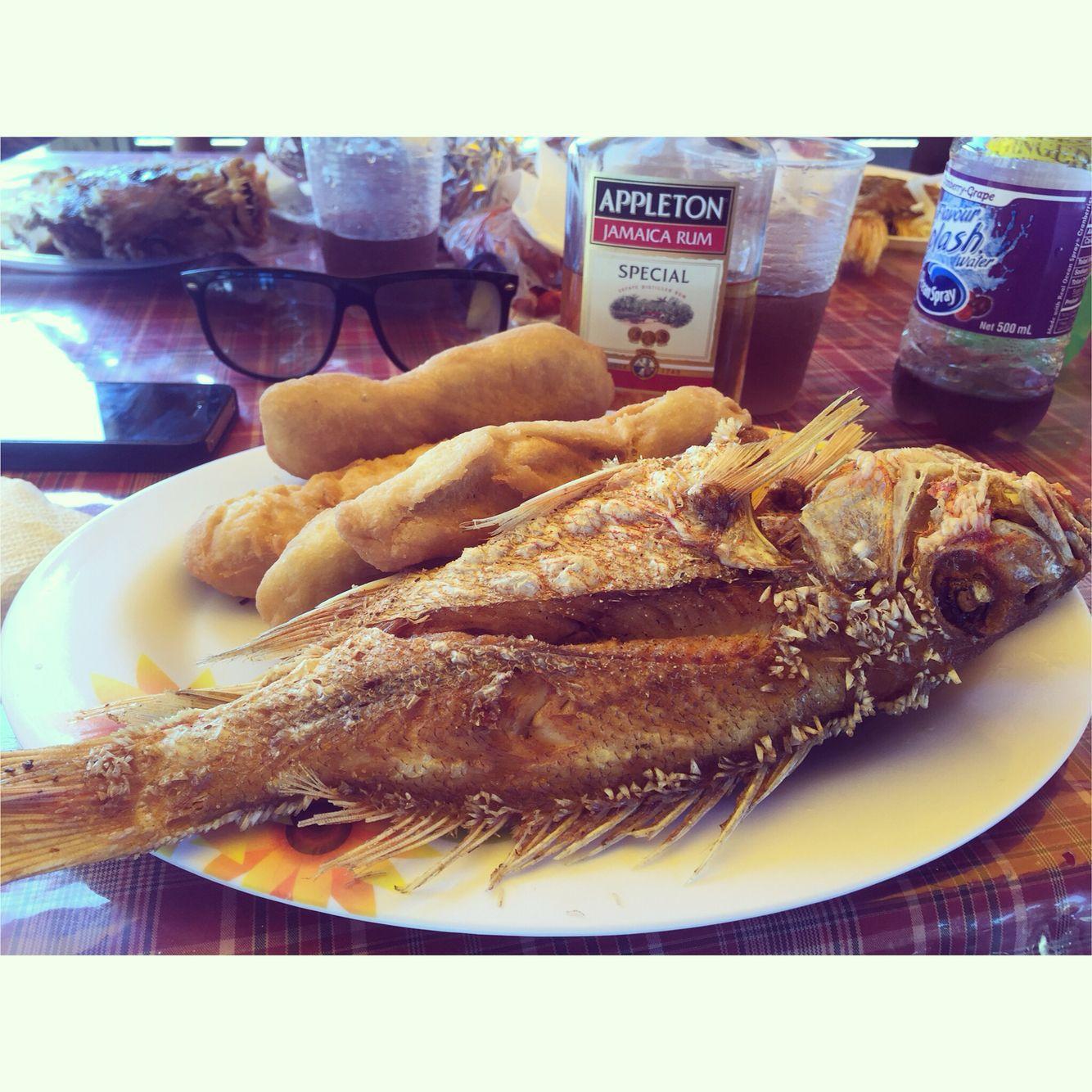Fried Fish, Festival, and Appleton Rum at Boardwalk Beach