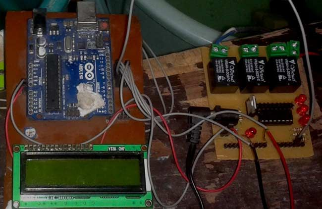 Automatic Water Level Indicator And Controller Using Arduino Arduino Projects Water Monitor