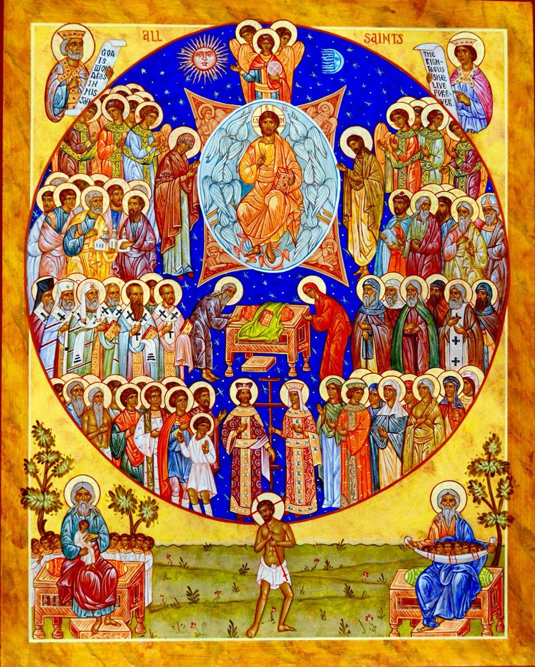 All Saints Icon