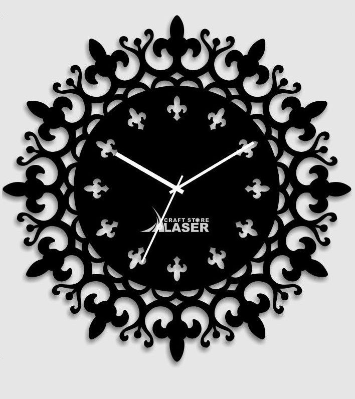 Buy Laser Craft Store Black Acrylic Modern Design Acrylic Wall Clock At Low Prices In India Only On Winsant Com Wall Clock Clock Minimalist Wall Clocks