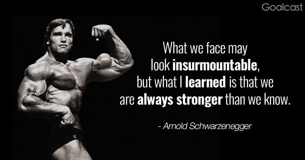 Top 15 Arnold Schwarzenegger Quotes To Pump You Up For Success ... Top 15 Arnold Schwarzenegger Quotes To Pump You Up For Success ... Hungry For Success Quotes hungry for success motivational quotes