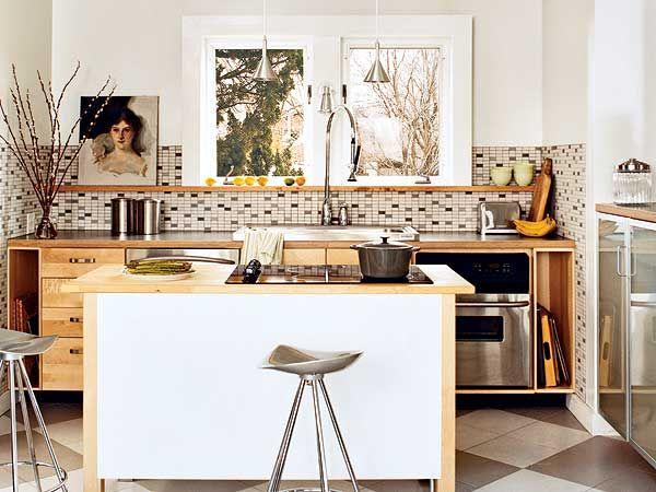 Kitchen Ideas No Upper Cabinets