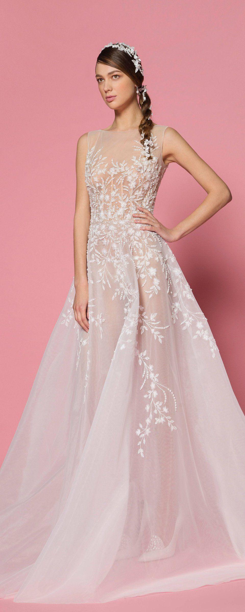 Georges Hobeika Spring-summer 2018 - Bridal | Vestidos de novia, De ...