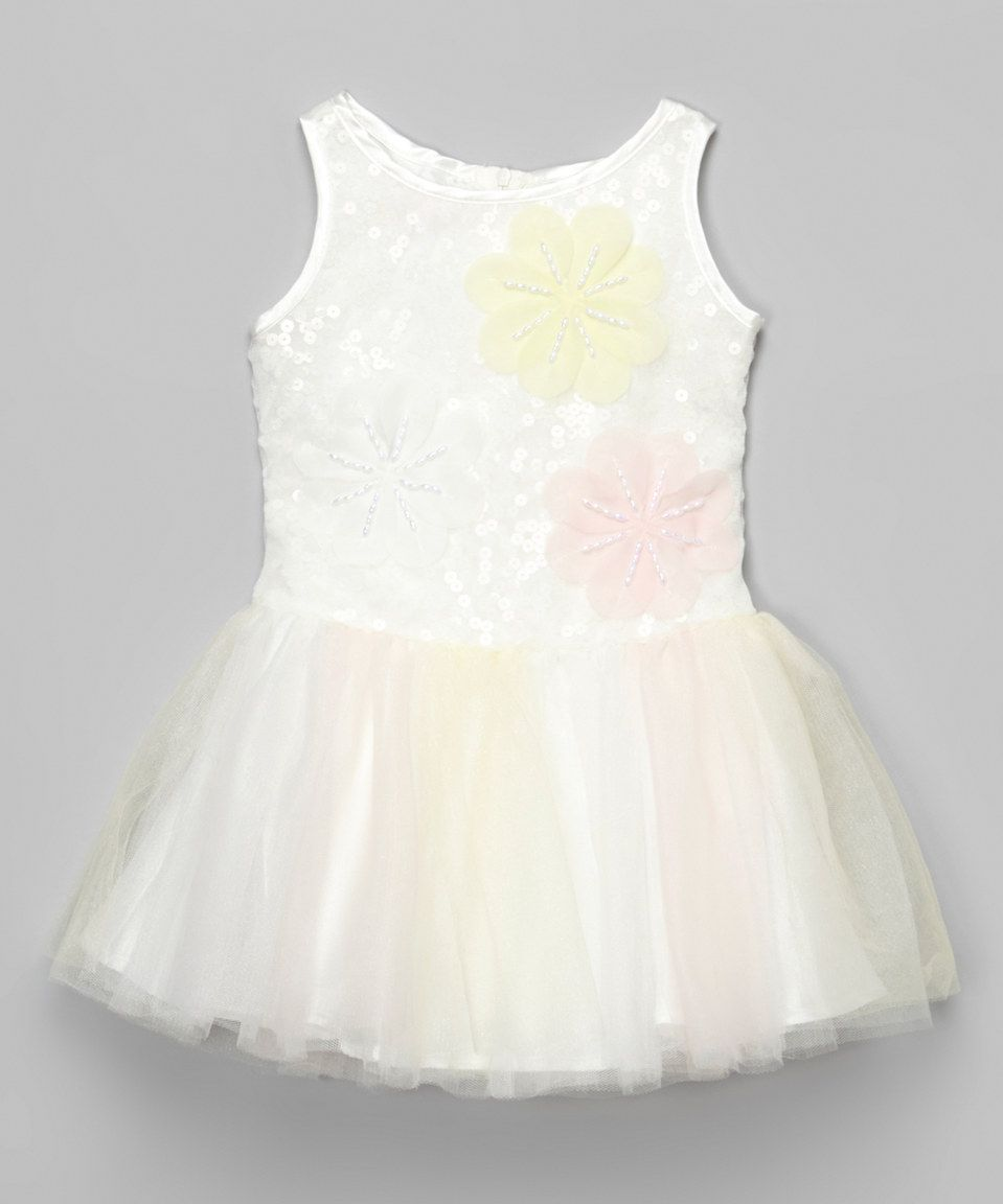 Loving this Ivory Ballerina Dress - Toddler on #zulily! #zulilyfinds