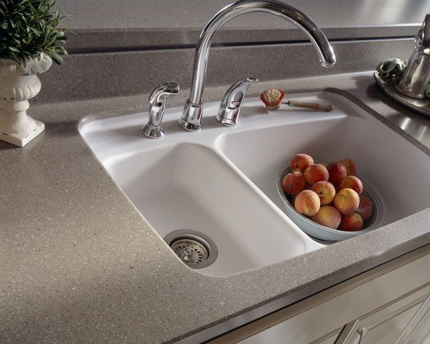 corian countertop with sink | DuPont Corian | Residential and Commercial  Surfacing | H. J. Oldenkamp .