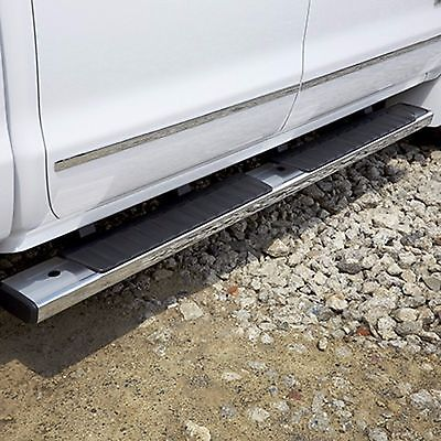 84106507 Gm Oem Chrome 6 Side Step Bars 2014 2016 Silverado Sierra Crew Cab Motors Parts Accessories