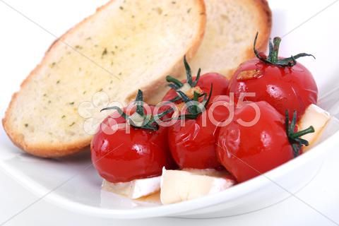 roasted cherry tomato antipasto - Stock Footage | by Juliedeshaies