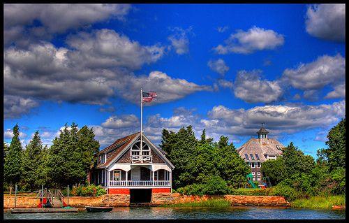 Loving this shot of Chappaquoit Harbor in Massachusetts!
