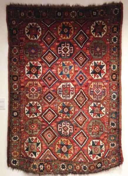 Textile Museum of Canada - Ashgabat to Istanbul - Oriental Rugs from Canadian Collections. Image courtesy Jaina Mishra