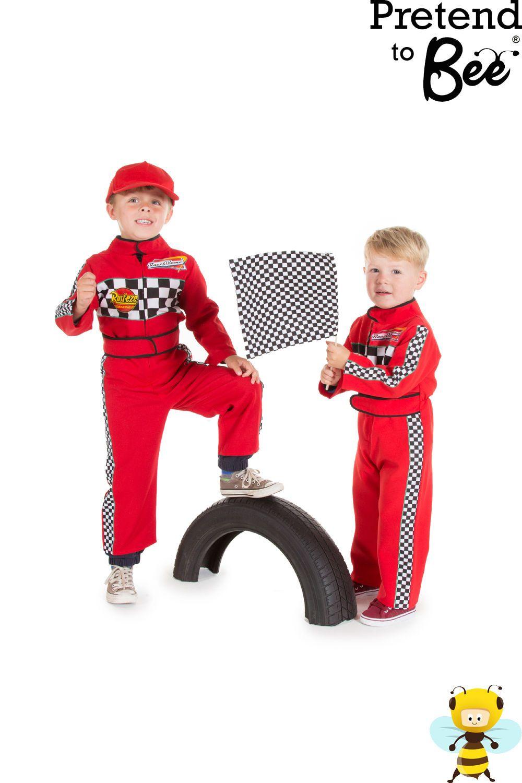 Details Boys Kids Red Formula 1 Car Racing Driver