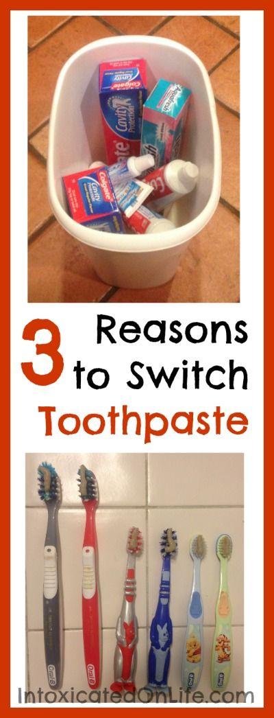 3 Reasons to Make the Switch to Natural Toothpaste. List of natural toothpastes, and recipes to make your own.