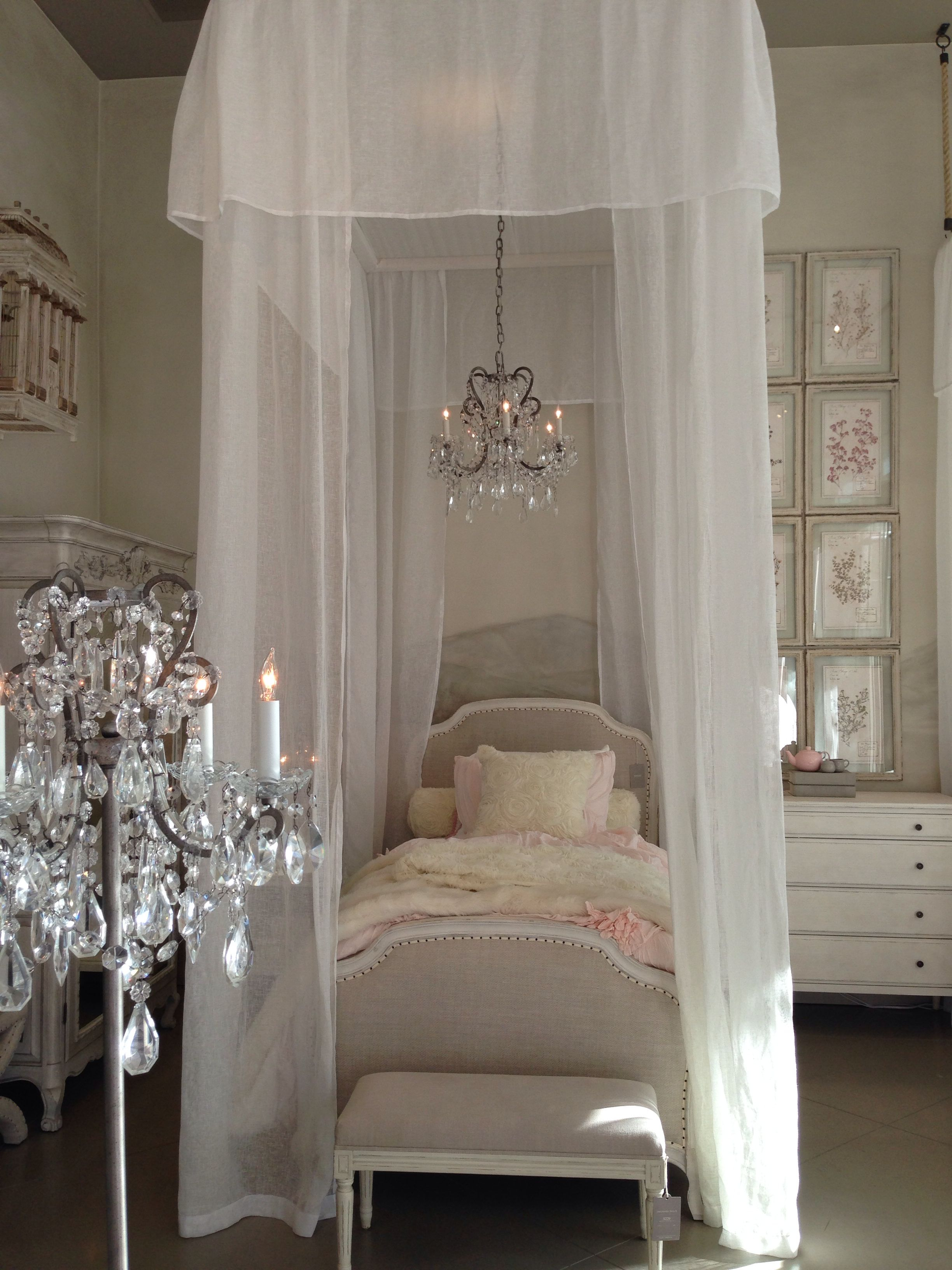 Gorgeous French Bedroom With A Luxuriously