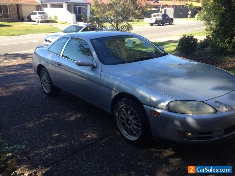 Toyota Soarer Coupe V8 1UZ Automatic Silver Series 2 Imported 2002