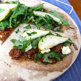 Fig and Goat Cheese Pizza with Arugula | Pizza nutrition ...