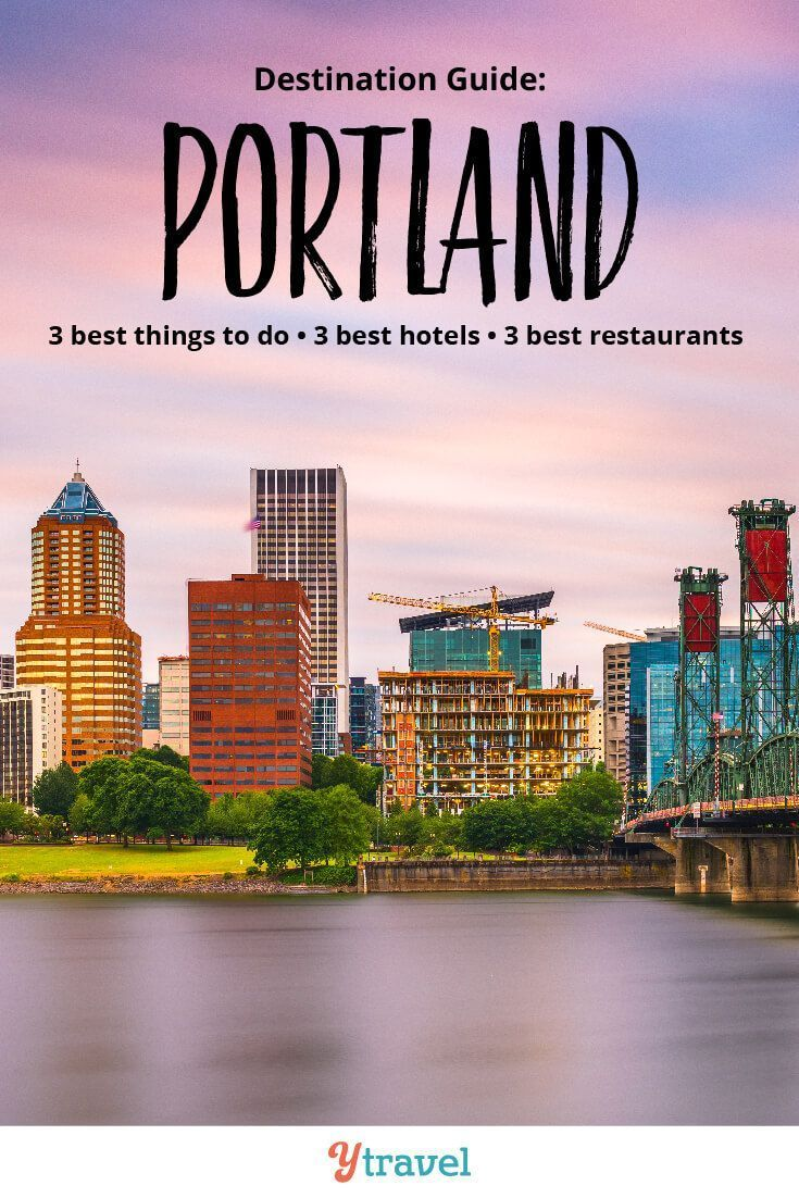 Planning a trip to Portland Oregon? Check out these tips on the best 3 things to do in Portland, best 3 hotels in Portland, and 3 best restaurants in Portland. Don't visit Portland without reading this Portland travel guide! #travel #Portland #Oregon #vacation #Portlandtravel #Oregontravel