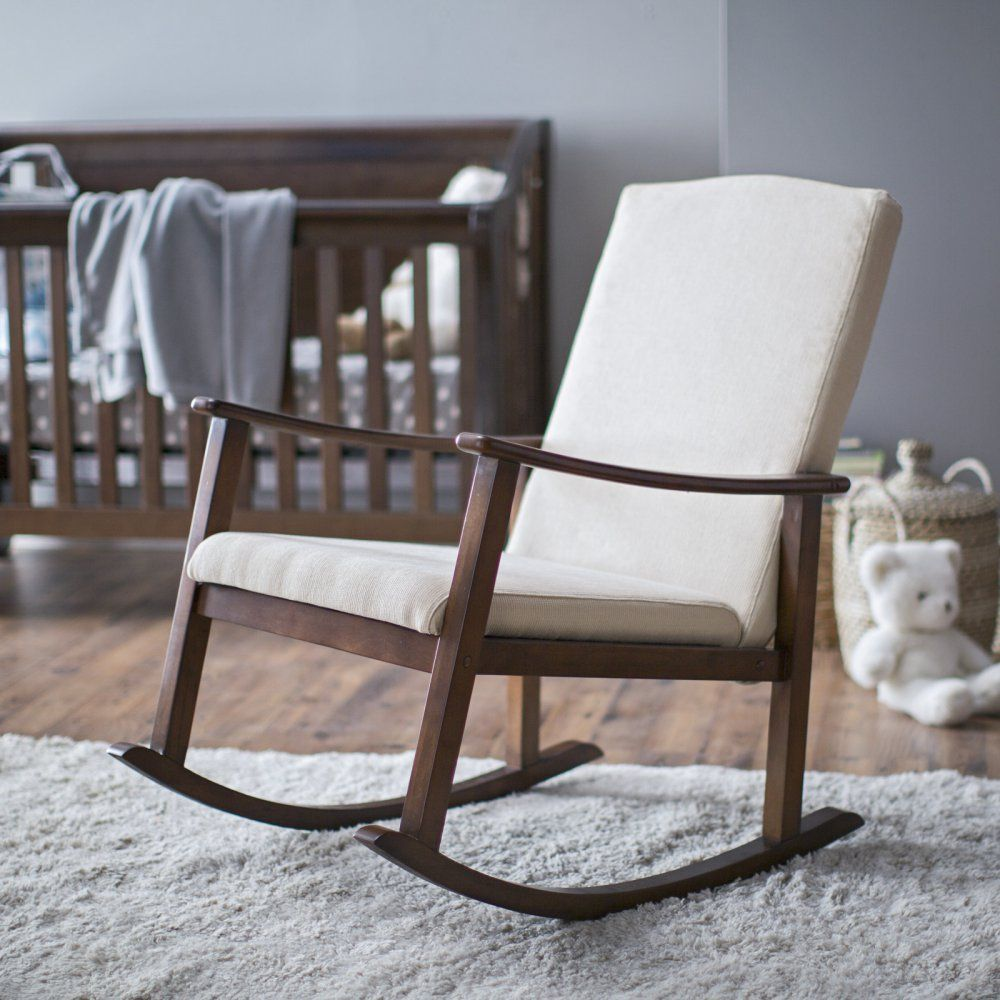 Indoor Rocking Chair Chicco Polly High Belham Living Holden Modern Upholstered Ivory Chairs At Hayneedle