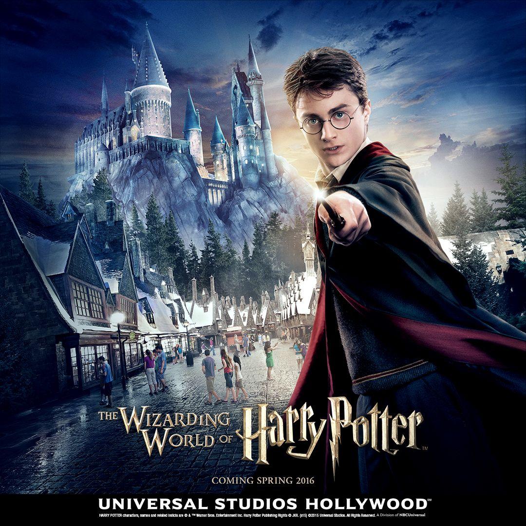 Harry Potter no Univesal Studios California