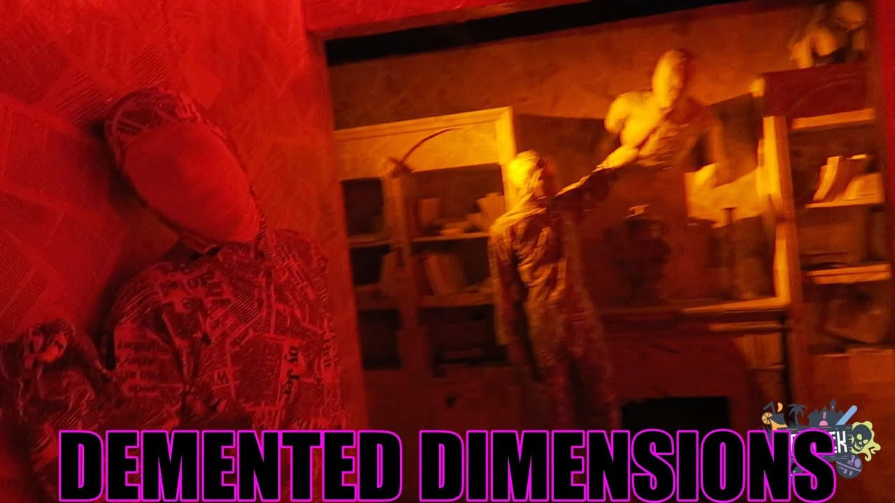 Busch Demented Dimensions Gardens Howloscream Maze Walkthrough Check More At Https Arya Kayisi S Busch Gardens Williamsburg Busch Gardens Williamsburg