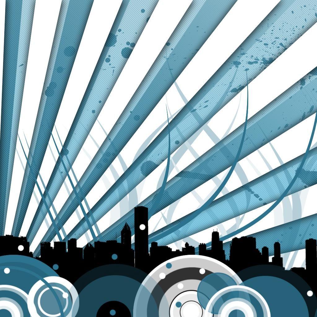 City Skyline On HDiPadWallpaper.com