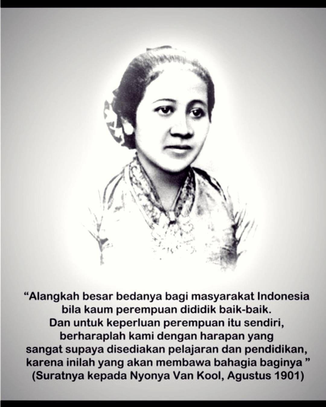 Gambar Pahlawan Ibu Kartini