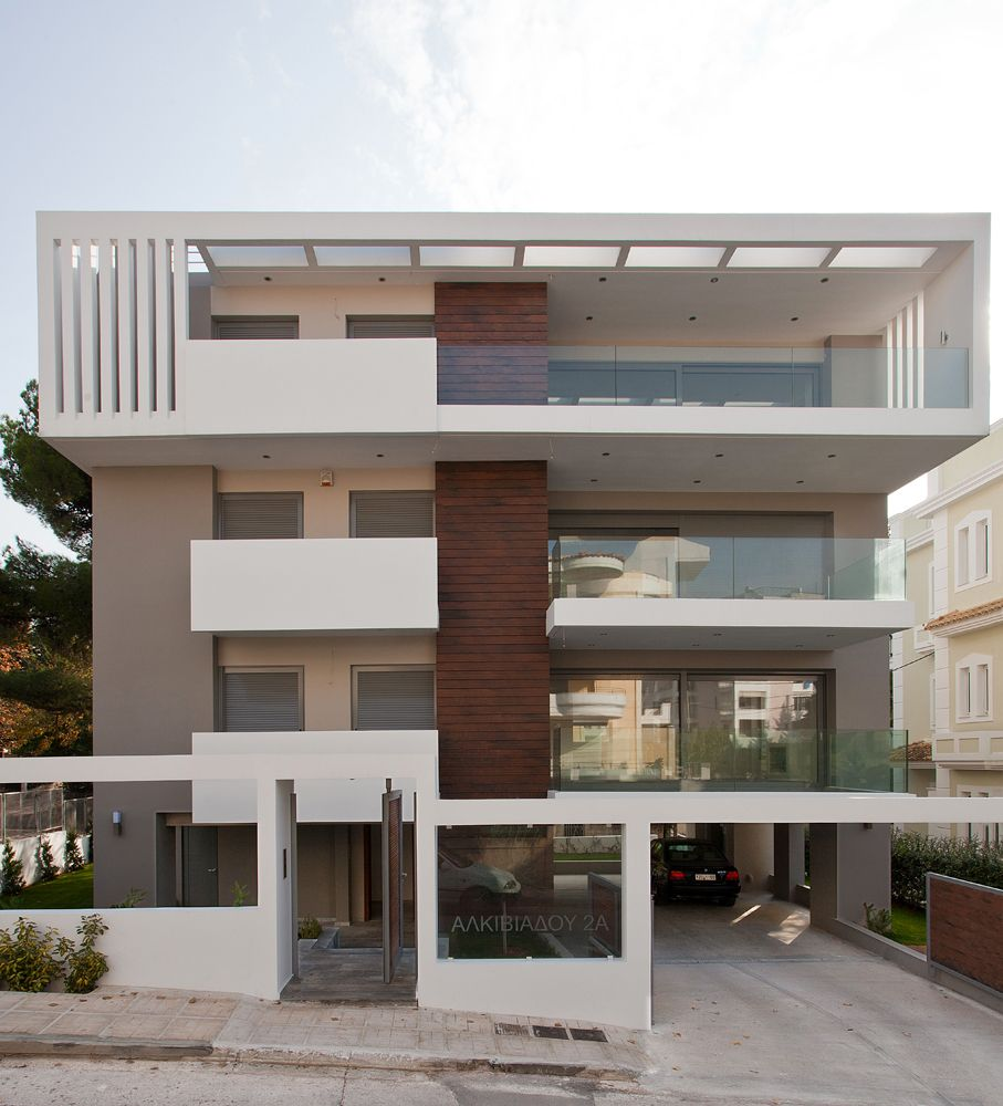 Apartment Building In Melissia Architravel Energy Efficient