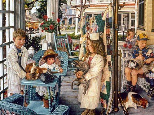 Susan Brabeau--Front Porch Vet