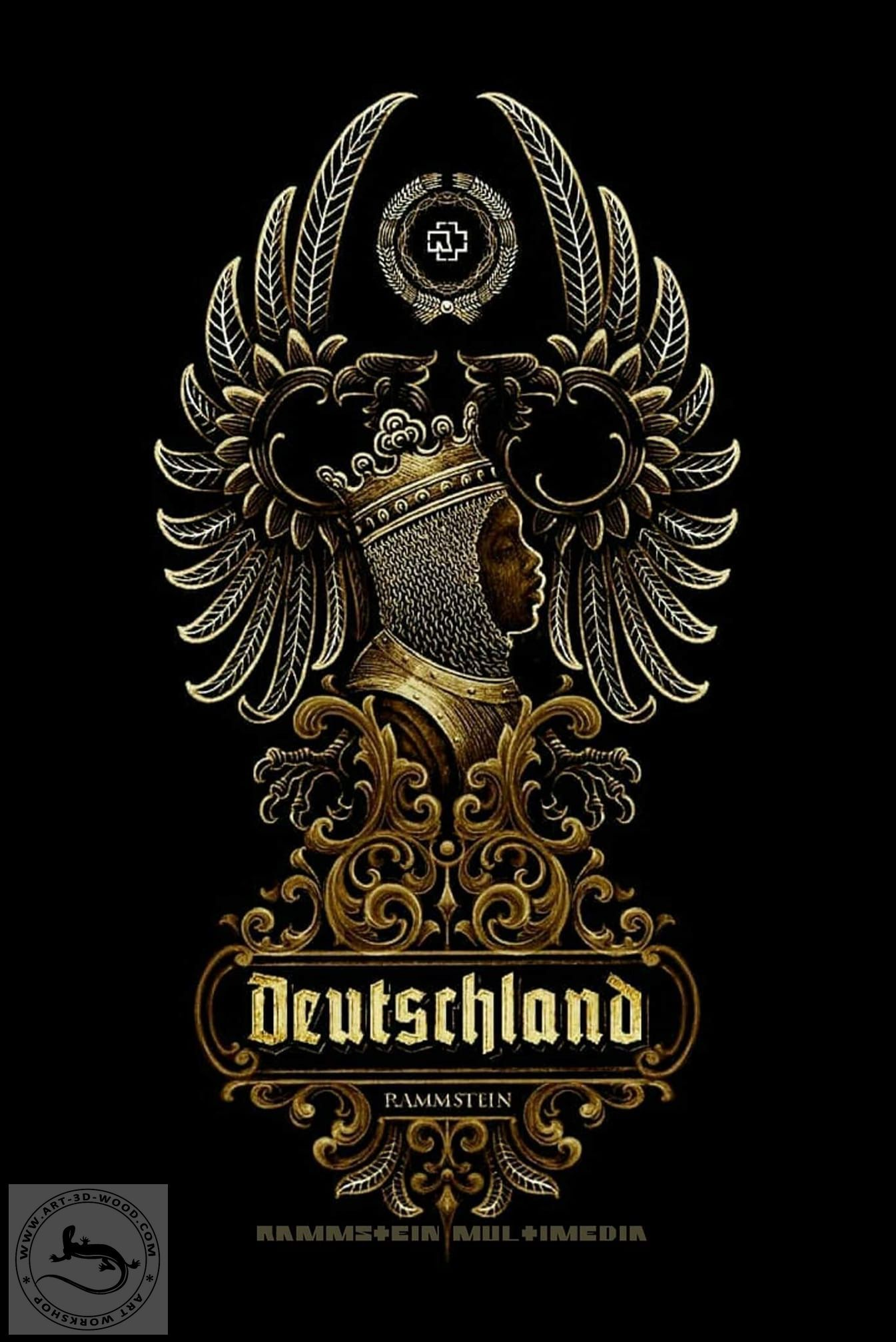 Rammstein Deutschland Panno Til Lindemann Muzykalnye Gruppy Oboi