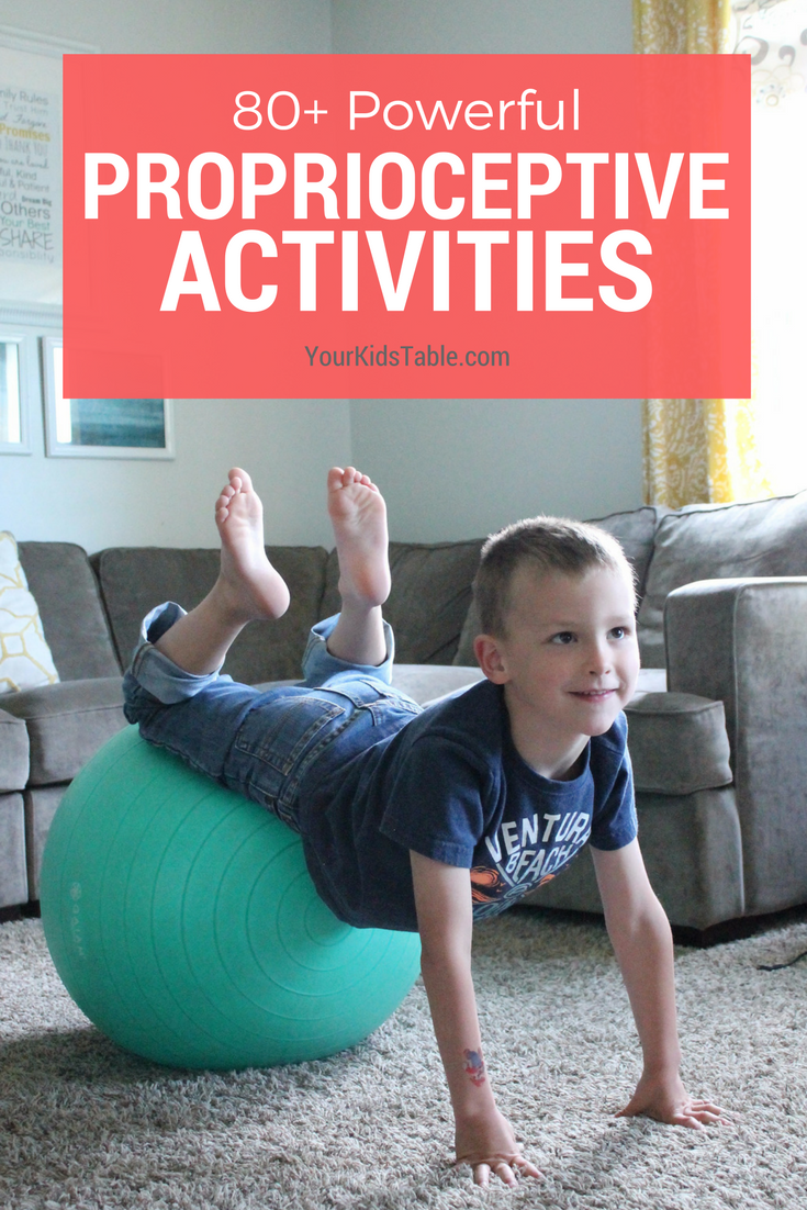 Integration routines for kids that are hyperactive