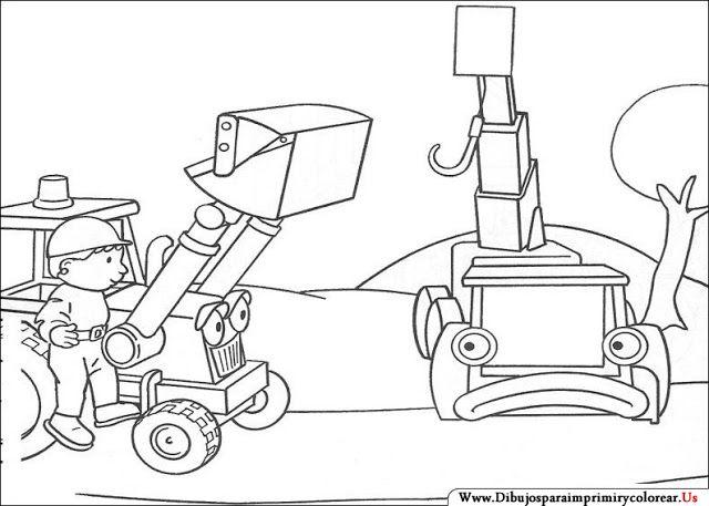 Dibujos de Bob el Constructor para Imprimir y Colorear | Dibujos ...