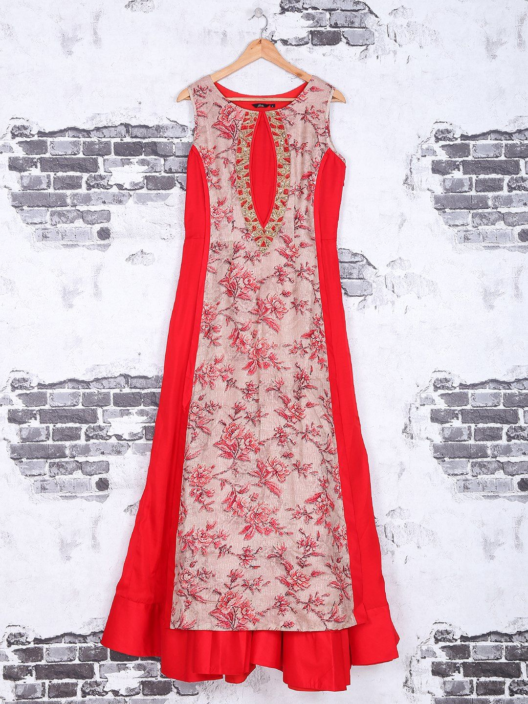 Shop Red cotton fabric kurti online from G3fashion India. Brand - G3 ...