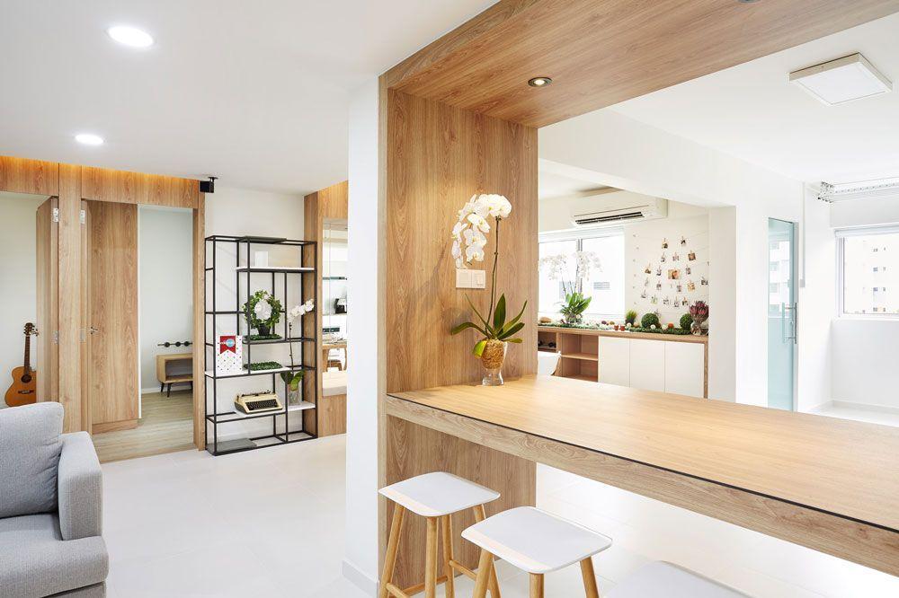 Muji Inspired Home Interior Designs From 5 Id Companies Style Muji Inspired Home Home Interior Design Interior Design Singapore