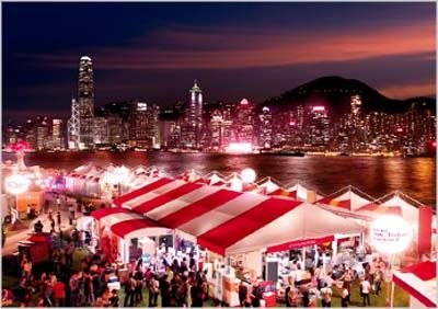 October Food and Wine Festivals --   Foodies head to Kansas City, Hong Kong, New York City and California Wine Country.  http://www.vagabuzz.com/octwine