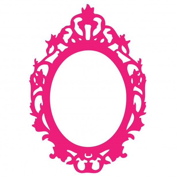 Ornate Pink Frame Clipart Free Stock Photo - Public Domain Pictures ...