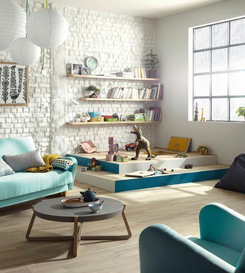 D co maison quelle d co pour une vie de famille agr able et heureuse salons living rooms - Quelle temperature dans une maison ...