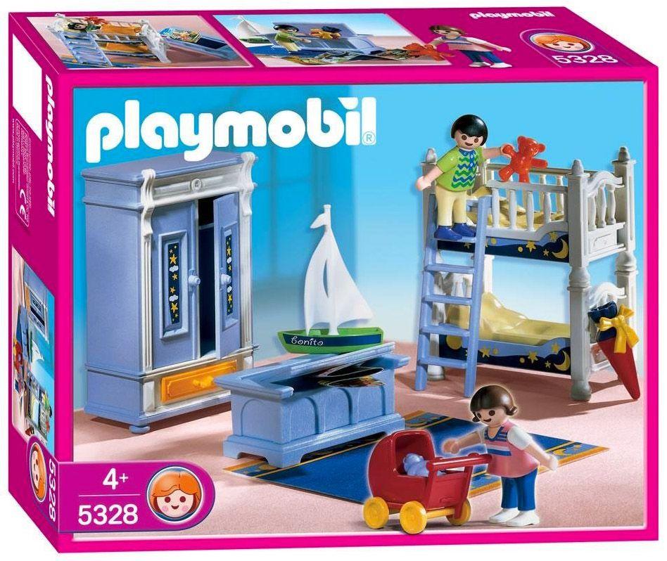 playmobil dollhouse 5328 enfants
