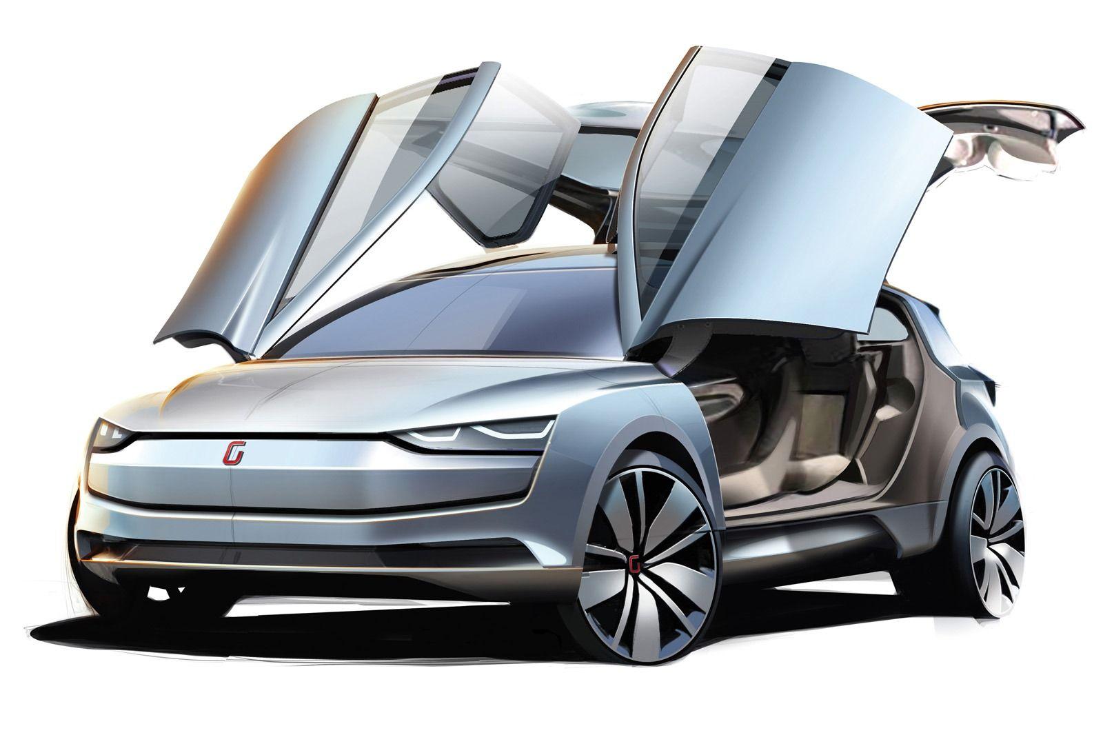 Italdesign Guigiaro S Six Seater Clipper Mpv Concept Comes In A