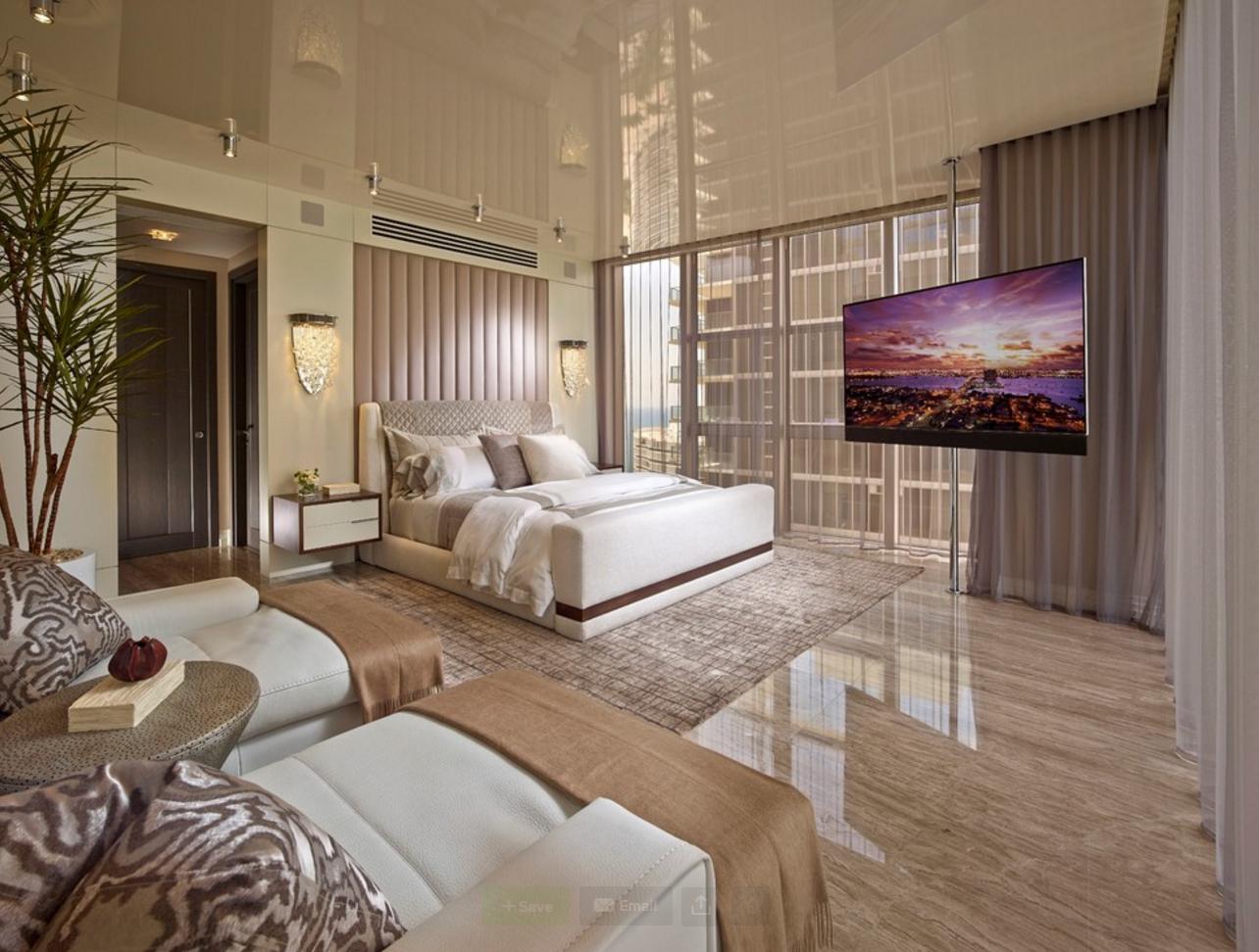 Bodenbelag schlafzimmer ~ Ein bodenbelag aus marmorfliesen bringt die natur ins schlafzimmer