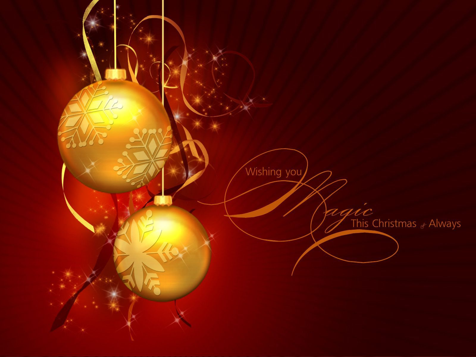 christmas ornaments | Christmas Ornament - Gold Wallpaper - Christian Wallpapers and ...