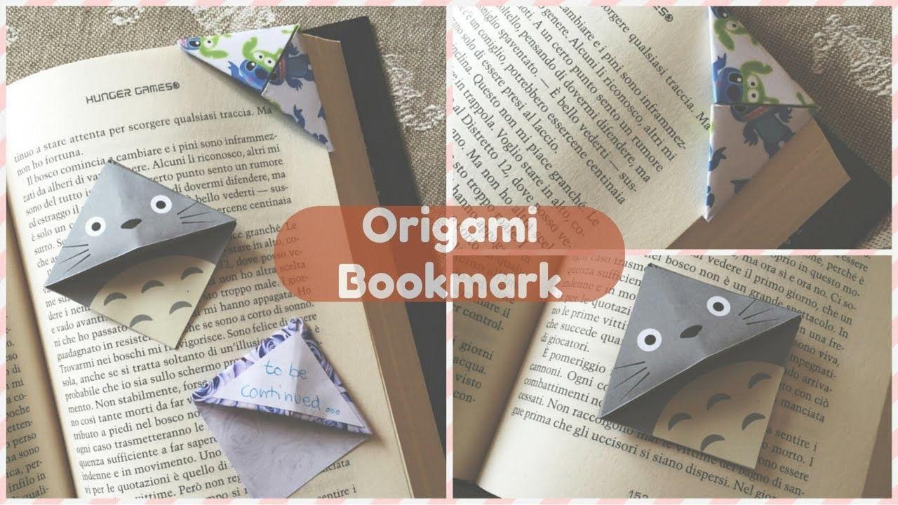 Origami Bookmark DIY (segnalibro)   Chibiistheway