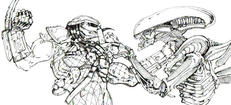 Predator Coloring Pages Ghost Rider Coloring Pages For Boys Alien In 2020 Alien Vs Predator Alien Vs Predator
