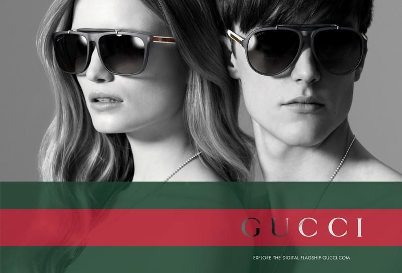 e73ae7a15268a The Essentialist - What s Hot In Fashion Advertising  Gucci Eyewear Ad  Campaign Fall Winter 2012 2013