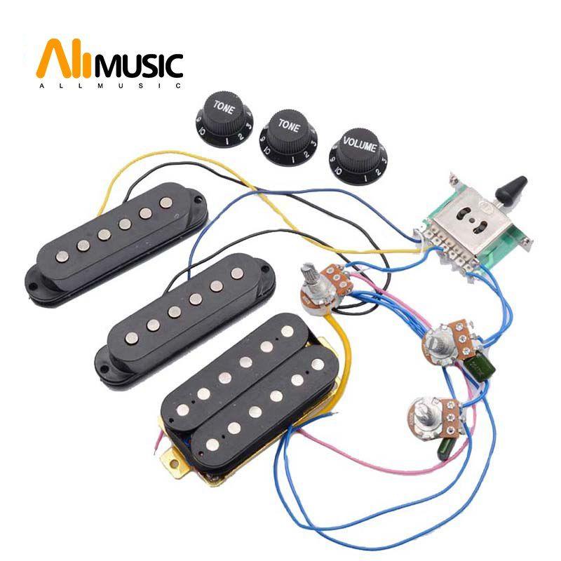 Fantastic Electric Guitar Pickup Wiring Harness Prewired 5 Way Switch 2T1V Wiring Database Hyediarchgelartorg