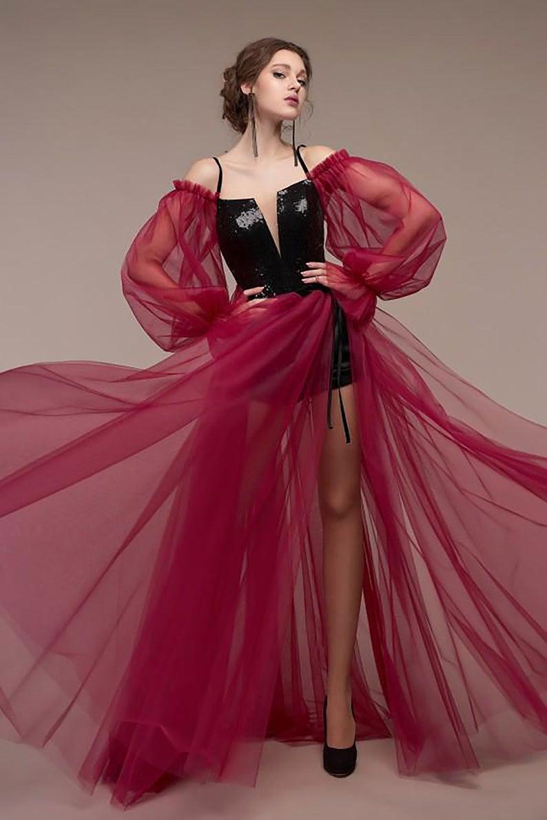 Steampunk Dress Wine Red Chiffon Unique Prom Dress Pirate Dress Steampunk Corset Rockabilly Dress Steampunk Dress Unique Prom Dresses Steampunk Prom Dress [ 1191 x 794 Pixel ]