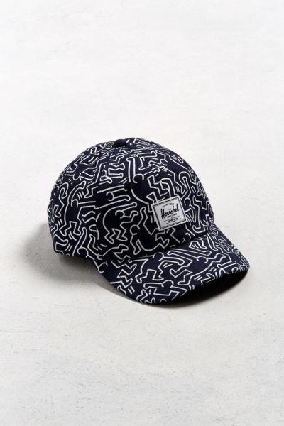 Herschel Supply Co. Sylas Keith Haring Baseball Hat  522b27196e7