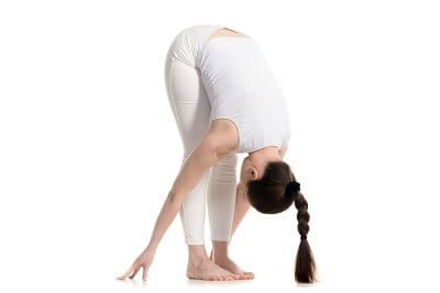 standing forward bend  yoga for beginners yoga poses for