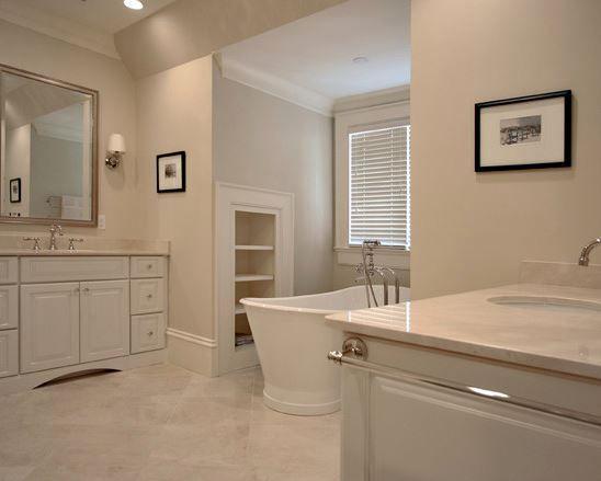 Beautiful Crema Marfil Bathroom Interior Paint Colors Bathroom Interior Paint Colors For Home