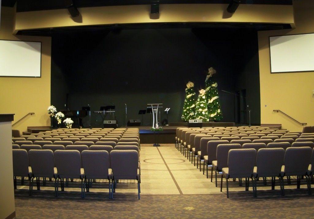 Modern Church Sanctuary  Churches  Church design Church stage Church stage design
