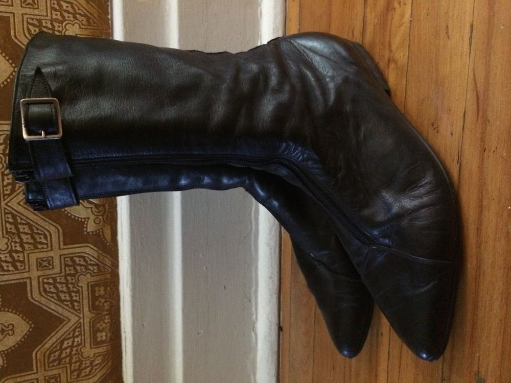 picker new goth vintage wave winkle '1980 Rare punk leather Y7g6fvby