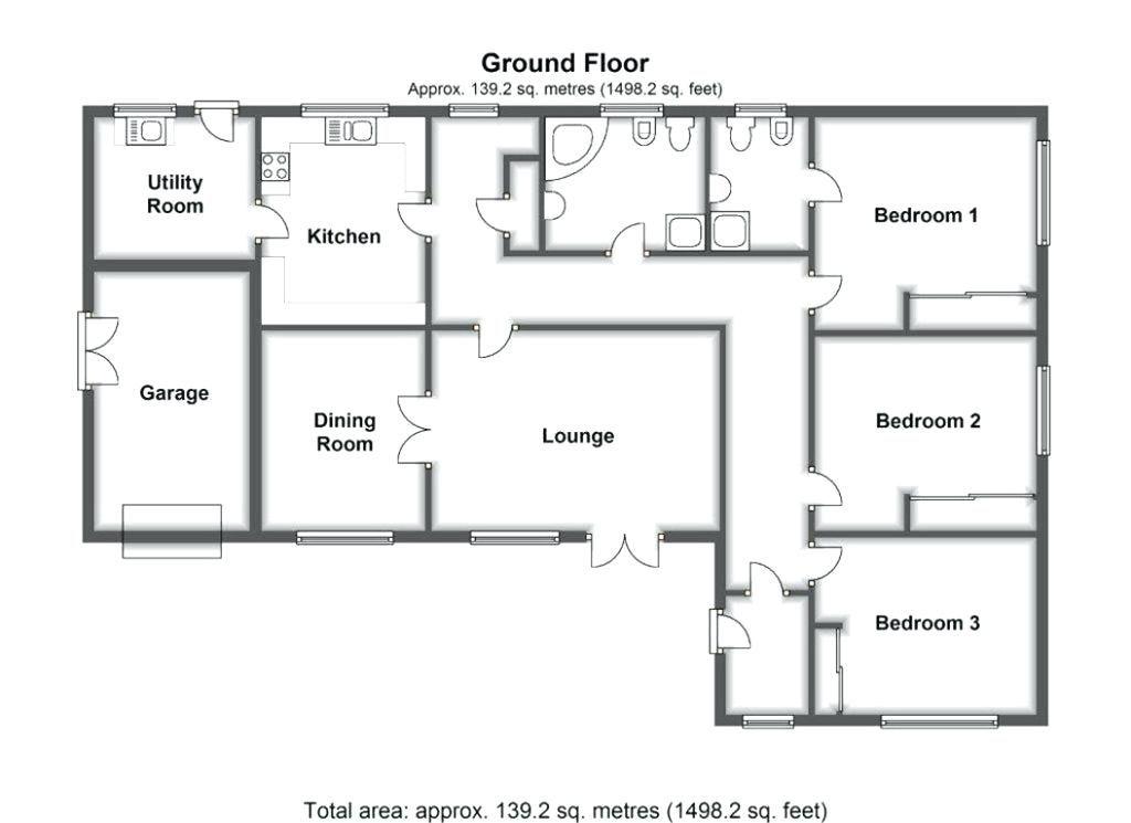 Dormer Bungalow Plans Marvellous Design L Shaped Bungalow House